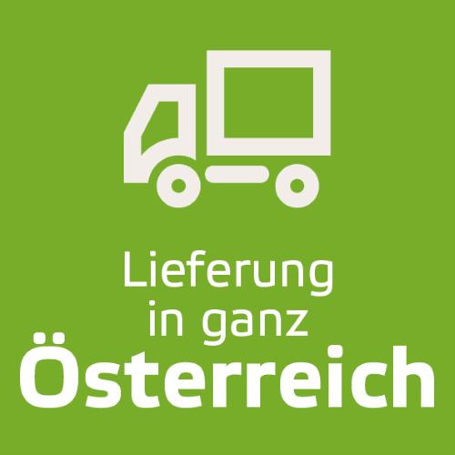 Lieferung in ganz Österreich