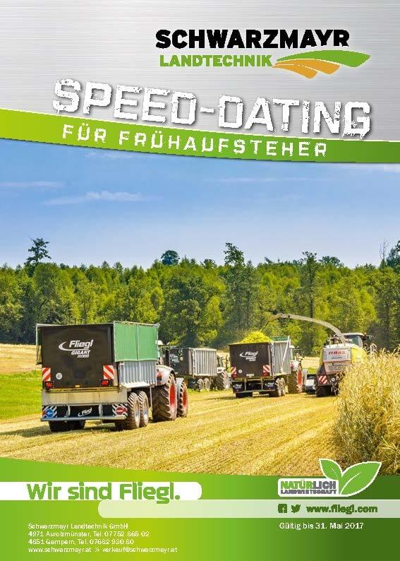 Top Angebot - Fliegl Speed-Dating