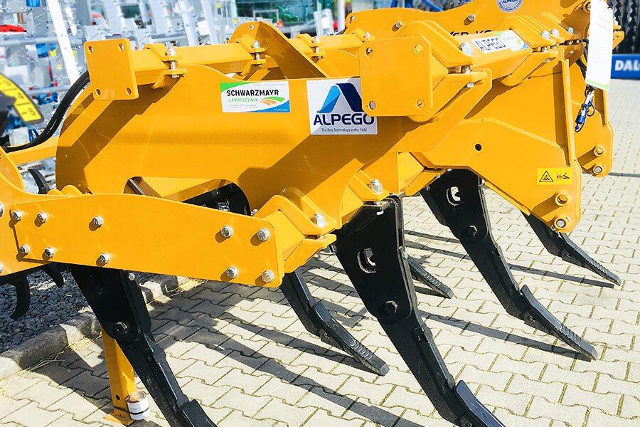 Alpego Lagermaschinen Bodenbearbeitung