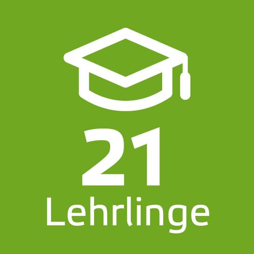 21 Lehrlinge